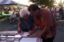CD autograph signing @ Annual Italian American Monmouth County Festival. Freehold Raceway, N.J
