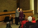 Concert Performance @ Woodland Park Municipal Building in N.J. With Soprano Elga Johannes.